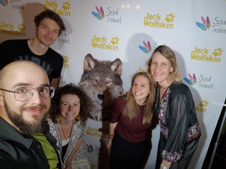  Adam Balion i Renata Sabela podczas Fair Travel Event w 2019 roku.