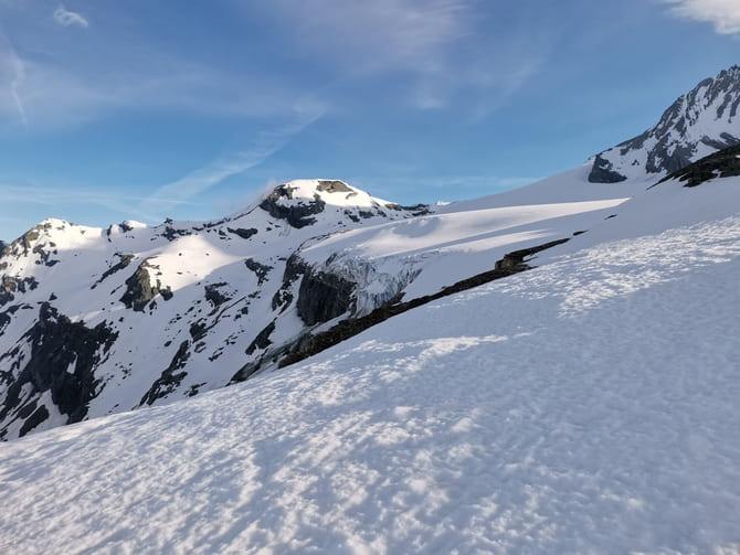 alpy grossglockner  Czoło lodowca Teischnitzkees. Fot. Marta Baros.
