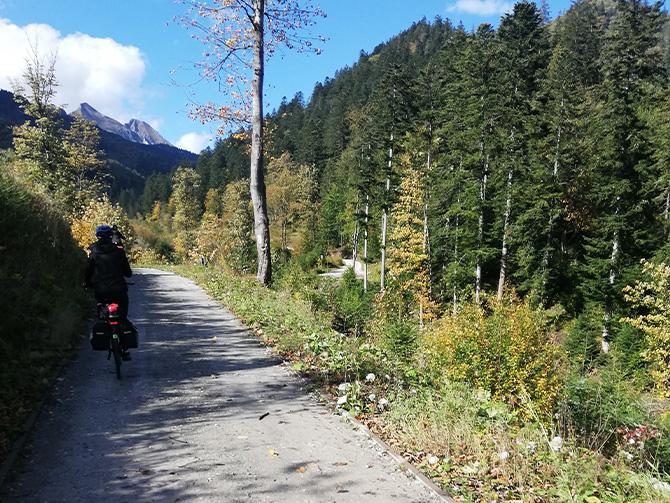 Szlak rowerowy wokół Tatr