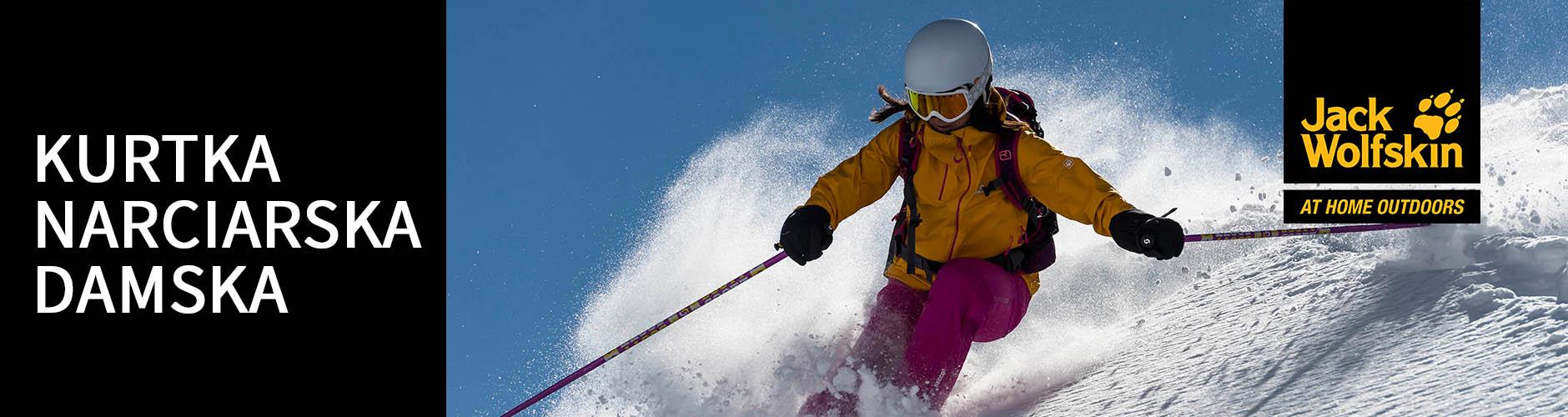 Kurtki narciarskie damskie Jack Wolfskin
