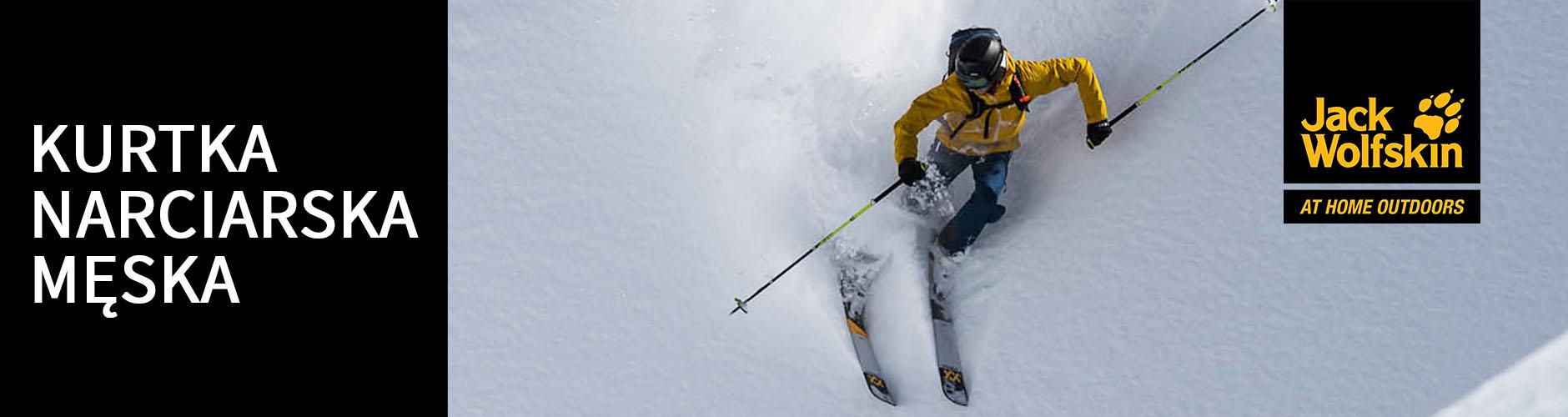Kurtki narciarskie męskie Jack Wolfskin
