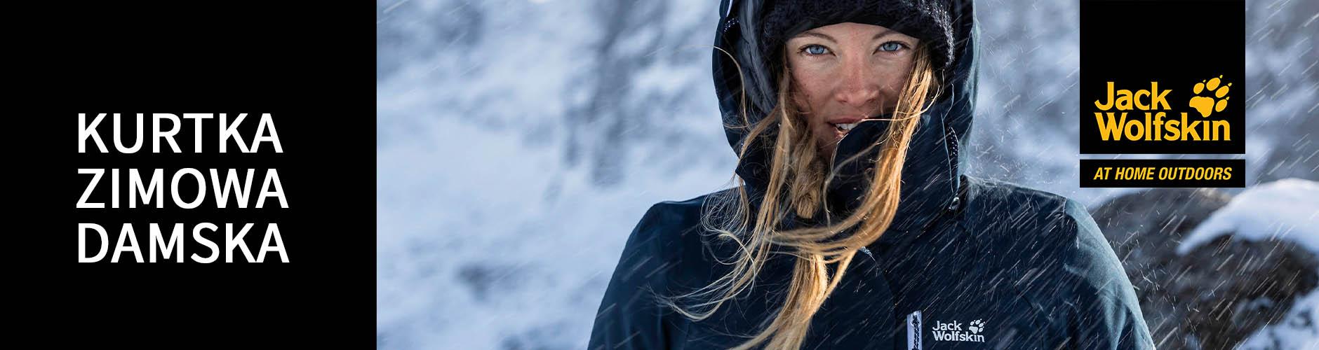 Kurtki zimowe damskie Jack Wolfskin