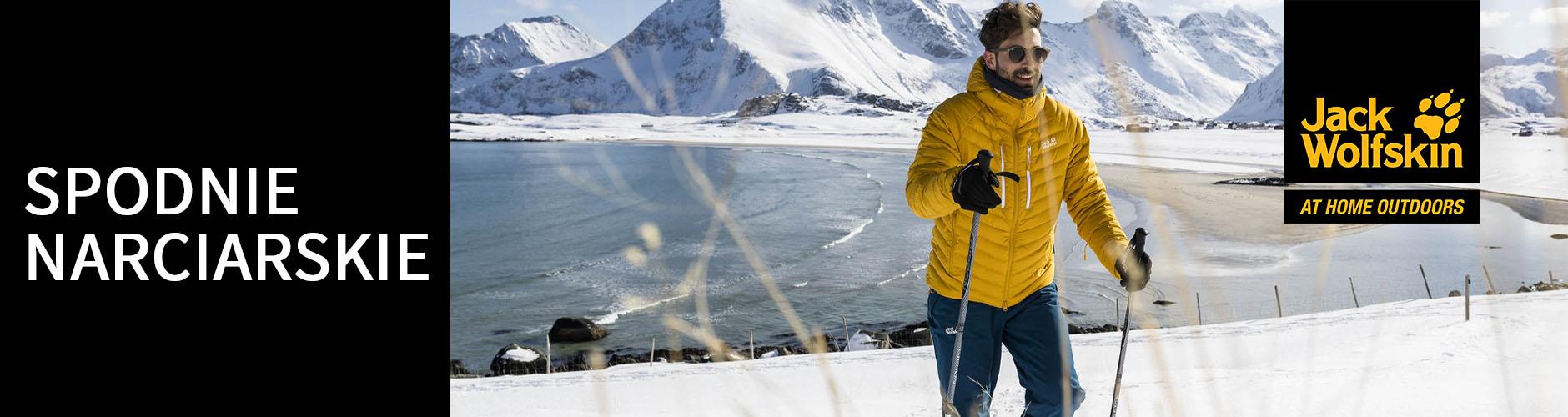 Spodnie narciarskie Jack Wolfskin