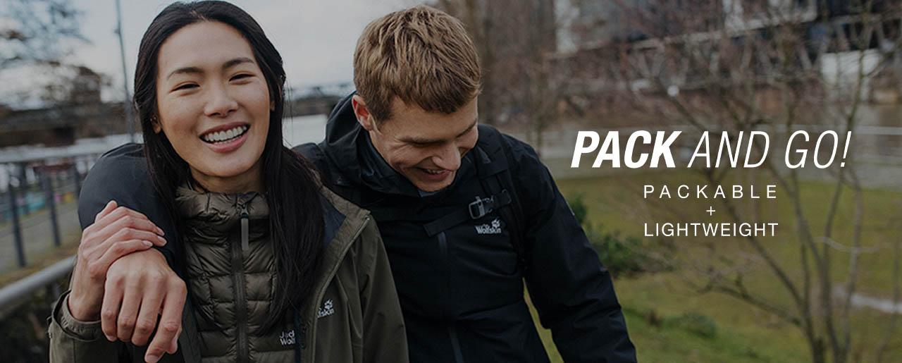 Lekkie Podróżowanie z Pack and GO! Jack Wolfskin